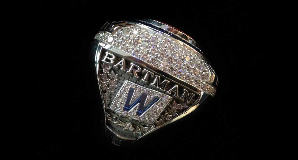 The MLB 2016 Ring that was given to Bartman