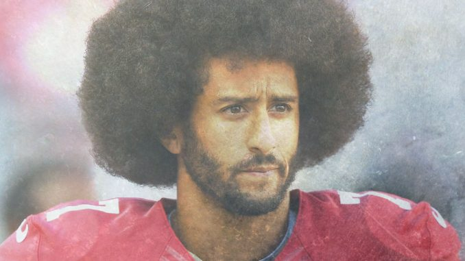 Kapernick looking sad