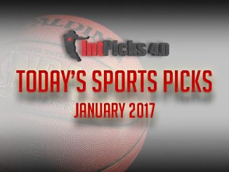 Today's Sports Picks January 2017