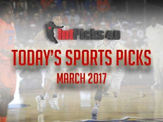 Today's Sports Picks March 2017