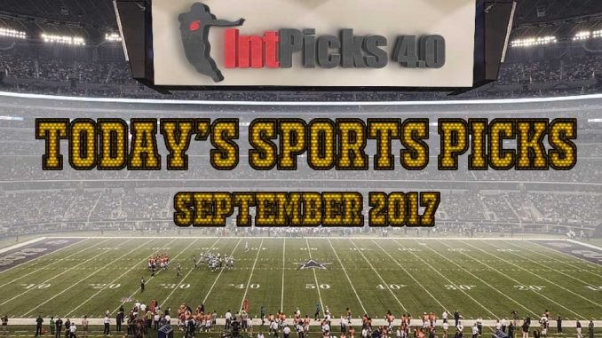 Today's Sports Picks September 2017