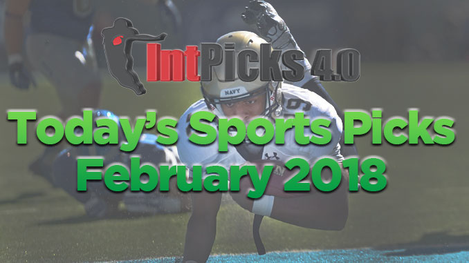 Today's Sports Picks February 2018